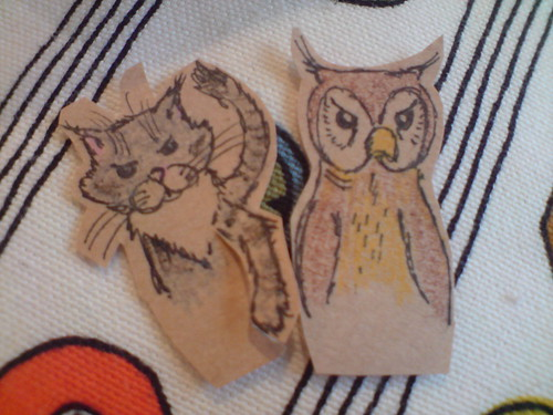 Owl and Pussy Cat