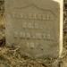 Headstone of Mexican War Veteran Thomas S. Harris, Boise Barracks Military Cemetery, Boise, Id.