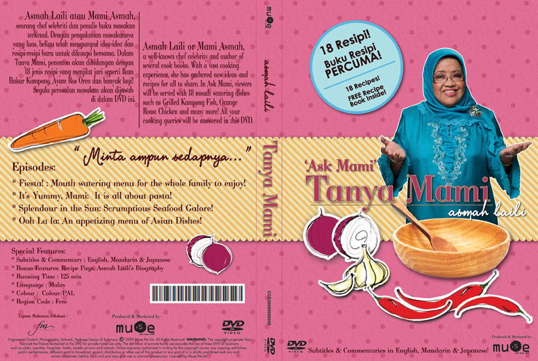 "Asmah Laili's ""Tanya Mami"" (Ask Mummy) Cooking DVD"