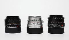 The compact 3 (DoveVadar) Tags: black 35mm paint 28mm summicron f2 f28 cameraporn summaron elmarit