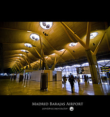 Madrid Barajas Airport ( Terminal 4 ) (pandahaccer) Tags: madrid camera trip travel light airport spain nikon tour tourist tokina richard rogers antonio lamela barajas d300 madridbarajas 1116mm pandahaccer