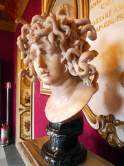 Bust of Medusa (from the right)