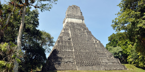 Tikal Temple I (rear view)