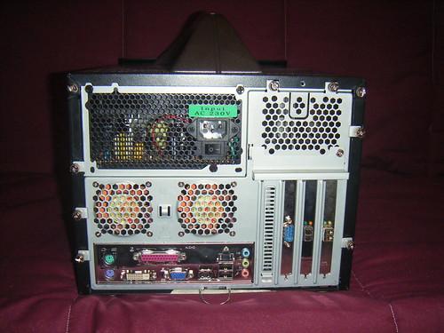 PC usado como target
