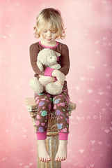 { sweet dreams } (annie.manning {paint the moon}) Tags: pink studio hearts candy sweet bokeh textures stuffedanimal dreams lamb barefeet bedtime jammies pajamas fluffles paintthemoonactions