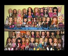 my bratz dolls (Kumiko Ai) Tags: cats beautiful fashion toys cool doll katia sweet leah dana jade sasha yasmin kumi bratz cloe phobe roxxy ohlala fianna nevra meygan stilyn