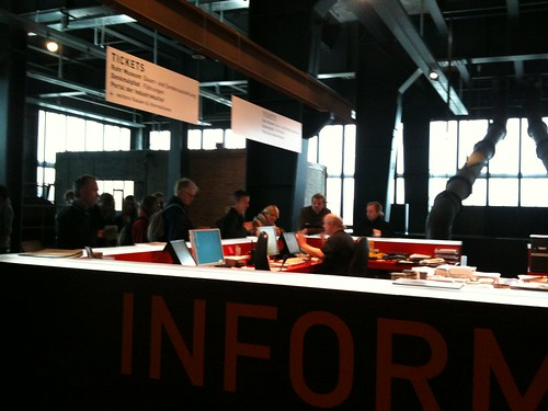 Information desk Ruhrmuseum