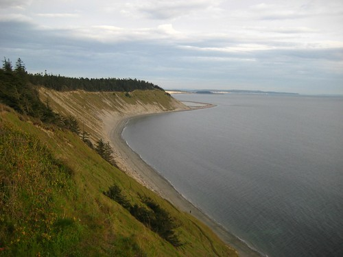 This was our view from the bluff at Fort Ebey.  No wonder the group camp is called