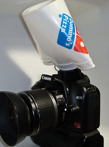 DIY Pop-Up Flash Diffuser