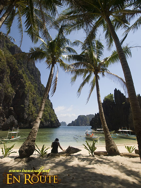 EL Nido Miniloc Secret Lagoon Beach