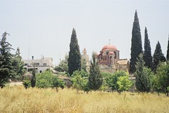 ガラリア湖畔 山上の垂訓教会(イスラエル)