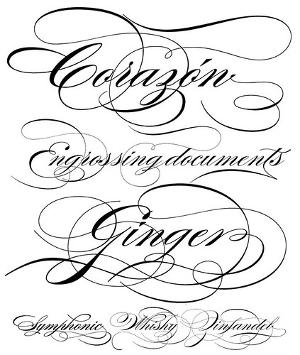 Burgues Script by Alejandro Paul