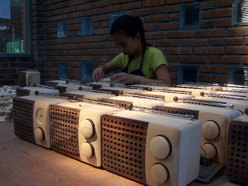 Magno Wooden Radio - Production line_designed by Singgih S.Kartono