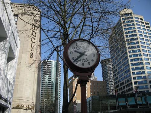 Century Square Street Clock