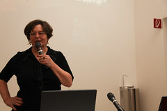 photoset: public art talks: Mary Kelly & Sanja Iveković
