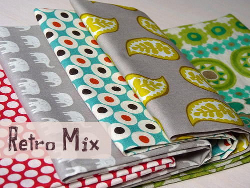 Red Pepper Quilts's Retro Mix