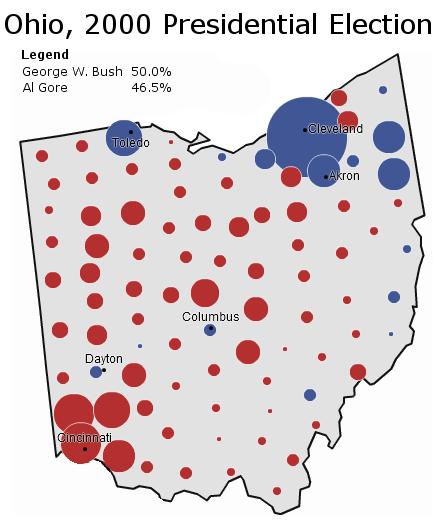 Ohio 2000 Margins