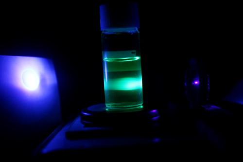 Low power UV LASER
