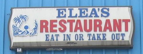 Elea's sign