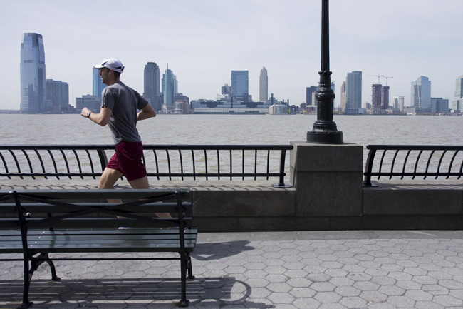 Runner, Battery Park City