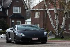 Lamborghini LP560-4 (simons.jasper) Tags: road color beautiful car racecar canon eos jasper belgium fast special autos lamborghini simons spork gallardo supercars heusden 50d specialcolor autogespot lp5604 spotswagens