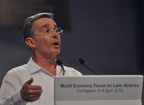 Alvaro Uribe Velez - World Economic Forum on Latin America 2010