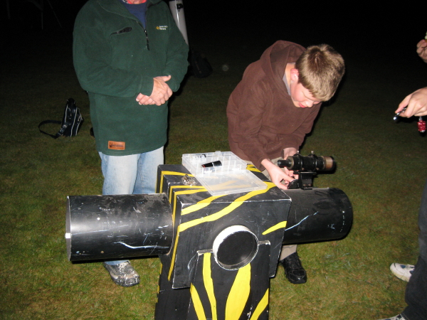Homemade dobsonian