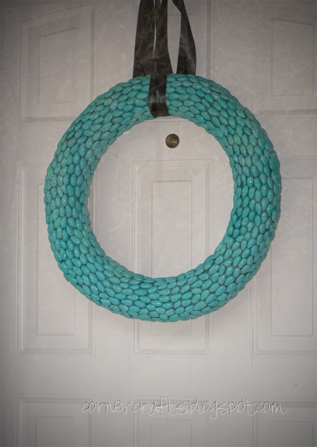 wreath new color teal dr seuss party