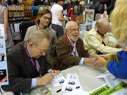 Arnold Roth, Al Jaffee & Gahan Wilson, MoCCA Art Festival, April 10, 2010