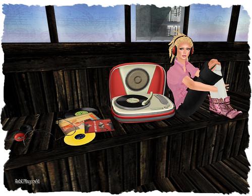 artilleri phonograf