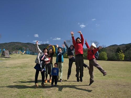 Une équipe de wwoofers au Japon