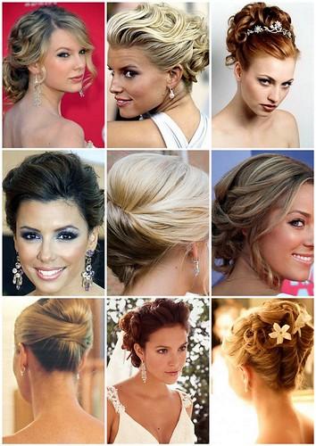 coques penteados fotos