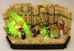 Outbreak (Bart De Dobbelaer) Tags: lego space vignette hex