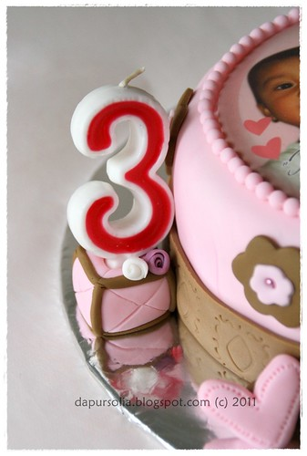 Cutie Bear Birthday Cake