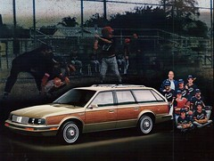 1985 Oldsmobile Cutlass Cruiser Station Wagon (coconv) Tags: pictures auto old classic cars car station vintage magazine advertising wagon cards photo flyer automobile post image photos antique album postcard ad picture images advertisement vehicles photographs card photograph postcards vehicle autos collectible collectors brochure 1985 85 cruiser automobiles olds oldsmobile dealer cutlass prestige