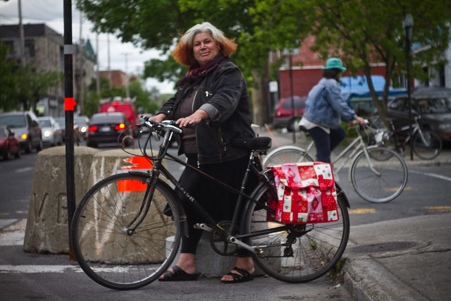 Montreal Cycle Chic Maria