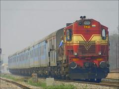 TKD WDM-3A #16417 with 12040/Shatabdi  Express - Indian Railways !!