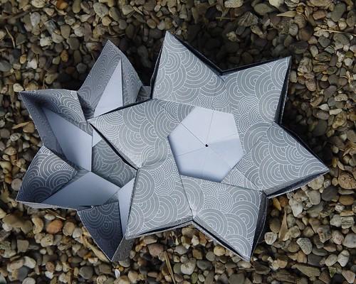 6 Pointed star box von Robin Glynn (Tagfalter) Tags: star origami box