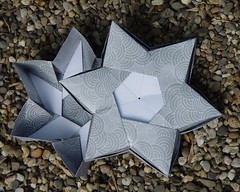 6 Pointed star box von Robin Glynn (Tagfalter) Tags: star origami box