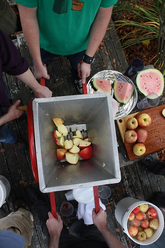 Apple Pressing Party