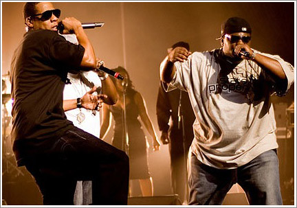 jay-z+&+beanie+sigel+@+the+apollo+2007-11