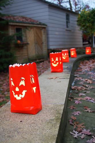 Halloween 2009: Luminarias.