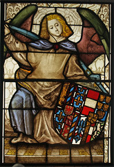 zi Stained glass from the Chapel of the Holy Blood, after Conservation. Musuem no. C444-1918 after treatment