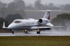 TC-MEN - 60-335 - Private - Learjet 60 - Luton - 091103 - Steven Gray - IMG_3369