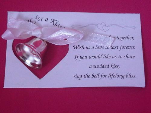 Wedding Favor Bells