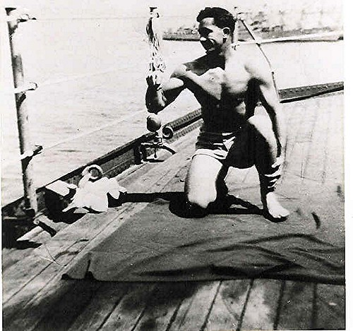 My Hero the 1942 Navy Poster Boy