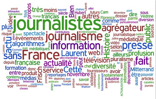 Wordle sur le blog d'Alain Joannès