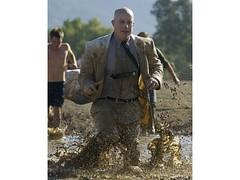 JPO2 Mr. Mud Suitman in the mud (Mr. Muddy Suitman) Tags: lake mud run suit irvine