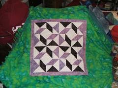 windblown purple quilt