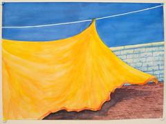 """Out to Dry"" 2009 Chobbs (charleswesleyhobbs) Tags: art watercolor charles hobbs"